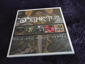 JETHTO TULL -- ORIGINAL ALBUM SERIES ( 5 CD)