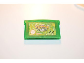 Pokemon Leaf Green GBA Gameboy Advance