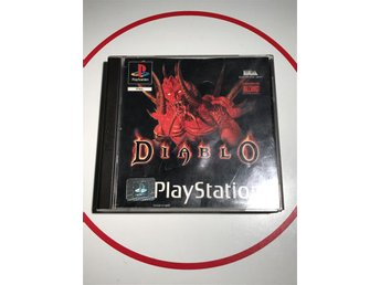 Diablo Playstation 1 PS1 PSOne PSX Svenska Komplett med Manual