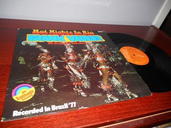 Frank Valdor - Hot Nights In Rio (LP) VG++/VG++ Brasil Samba