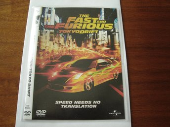 DVD-THE FAST AND THE FURIOUS TOKYO DRIFT