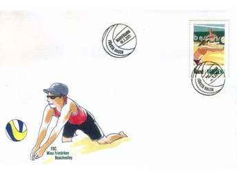 ÅLAND SPORT BEACH VOLLEY fint FDC 2011