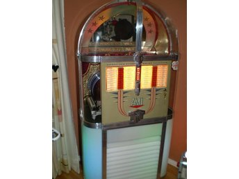 Vintage Rock-a-billy Jukebox art deco stil 1949