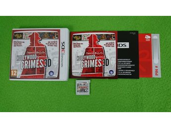James Noir´s Hollywood Crimes 3D Komplett Nintendo 3DS