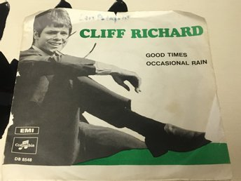 CLIFF RICHARD GOD TIMES Å OCCASIONAL RAIN 1969 SKICK G