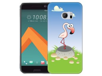 HTC 10 Skal Flamingo