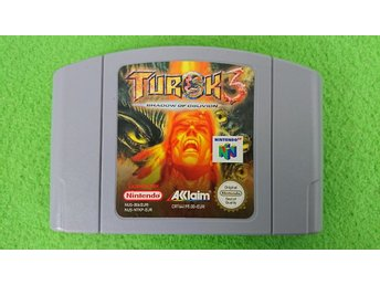 Turok 3 Shadow of Oblivion Nintendo 64 N64