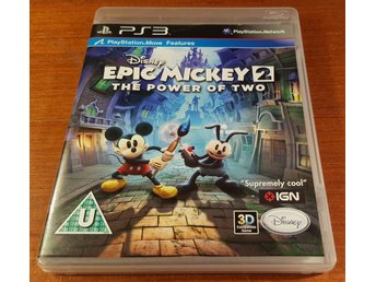 Epic Mickey 2 The Power Of Two - Komplett - PS3 / Playstation 3