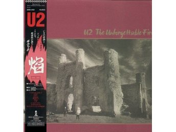 U2 'The Unforgettable Fire' 1984 Japan LP w/OBI & insert