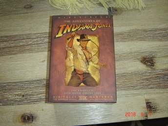 The adventure of Indiana Jones 4-dvd box