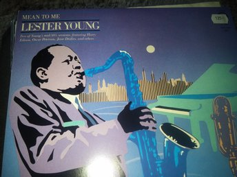 Lester Young - Mean to me, dubbel LP Verve US-press, NM/NM