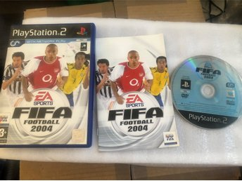 Playstation 2 PS2 spel - FIFA Football 2004