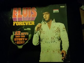 Elvis Forever 32 HITS And the story of a king Vinyl skiva, Rock, Musik, Gitarr,