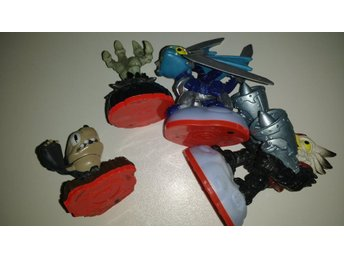 Skylanders Trap Team: 4 små figurer Nintendo Wii PlayStation Xbox