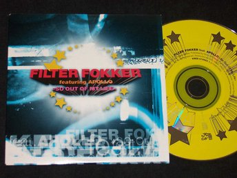 FILTER FOKKER FEAT. APOLLO - SO OUT OF MY LIF CDS 2002 NEW!