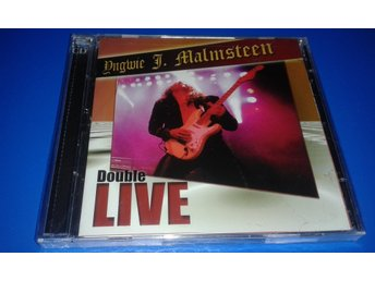 YNGWIE J. MALMSTEEN  - double LIVE - 5134-2  - 2 cd - ny -  (cd)