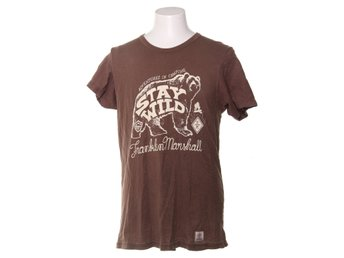 Franklin Marshall, T-shirt, Strl: L, Brun