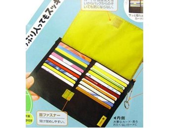 NY! Multi-purpose 40 Card Wallet Förvaring Storage Inner Bag