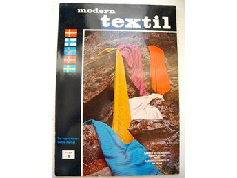 MODERN TEXTIL nr 8 1969 The Scandinavian Textile Press FRI FRAKT!