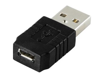 DELTACO USB-adapter Typ A ha - Typ Micro B ho - Höganäs - DELTACO USB-adapter Typ A ha - Typ Micro B ho - Höganäs