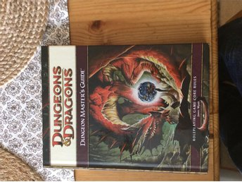 Dungeons & Dragons dungeon master's guide 4e