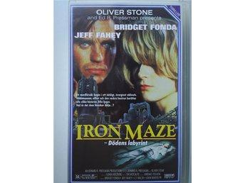 IRON MAZE - DÖDENS LABYRINT. (Jeff Fahey, Bridget Fonda, J.T. Walsh) - Skärblacka - IRON MAZE - DÖDENS LABYRINT. (Jeff Fahey, Bridget Fonda, J.T. Walsh) - Skärblacka