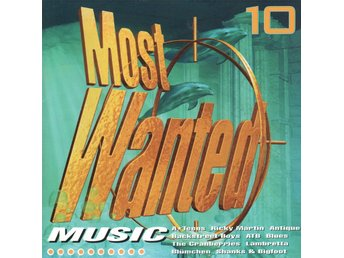 Most Wanted Muisc 10 - 1999 - CD