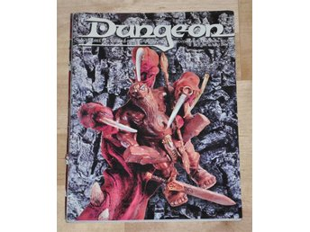 AD&D/D&D Dungeon Magazine #62 (Nov/Dec 1996) 76 sidor.