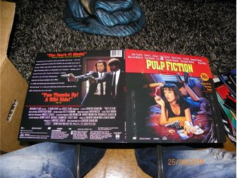 Pulp fiction - THX - Widescreen laserdisc - 2st LD - Forshaga - Pulp fiction - THX - Widescreen laserdisc - 2st LD - Forshaga
