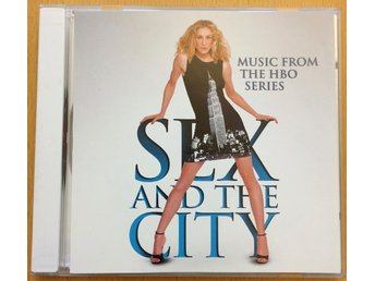 Sex and the City CD - Music from the HBO series - från år 2000