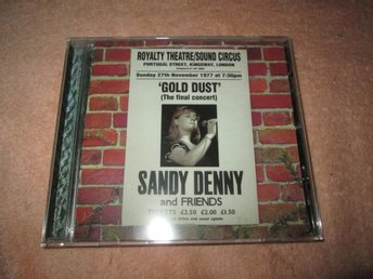 SANDY DENNY  GOLD DUST