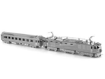 3D modell/pussel Japan EF510 Train - Bålsta - 3D modell/pussel Japan EF510 Train - Bålsta