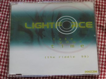 Lightforce - Take Your Time (The Riddle 99) CD Single