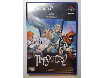 Timesplitters 2 till playstation 2 ps2