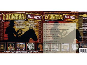 Country No 1 Hits, Div artister (CD)