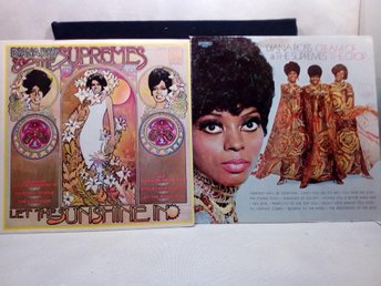 2 x Diana Ross & The Supremes