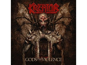 Kreator -Gods of violence DLP us version on black vinyl
