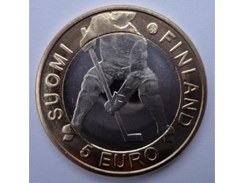 Finland 5 euro 2012 Ice Hockey