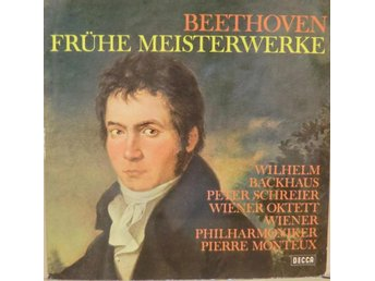 Beethoven-Fruhe Meisterwerke / LP with middle pages