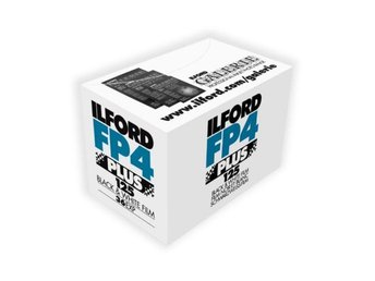 ILFORD FP4 +PLUS,SVARTVIT FILM,ANALOG FILM, ,120,135