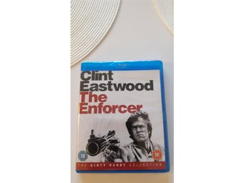 The Enforcer,Blu-ray NY/OÖPPNAD SVENSK TEXT