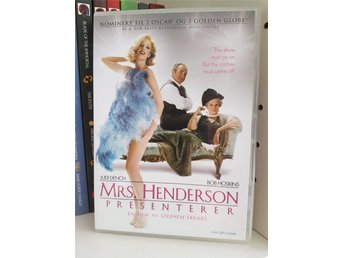 Mrs Henderson Presenterar DVD