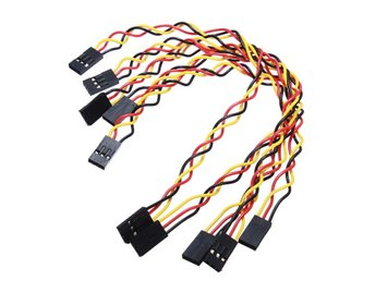 5pcs 3 Pin 20cm 2.54mm Jumper Cable DuPont Wire For Ardui...