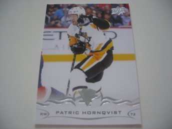 UD Series One 18/19 #142 Patric Hörnqvist - Pittsburgh Penguins