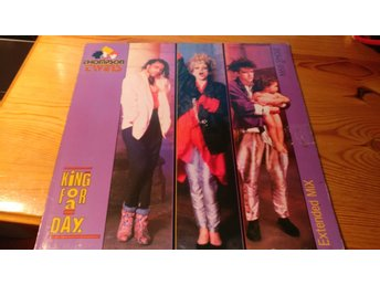 Thomsons twins - King for a Day Maxi-singel