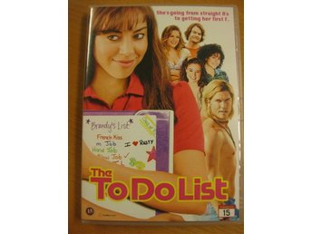 THE TO DO LIST - UNGDOMSKOMEDI - DVD 2014