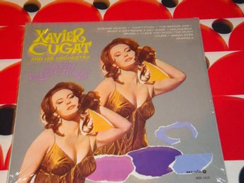 XAVIER CUGAT AND HIS ORCHESTRA - LATIN REFLECTIONS LP