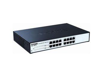 """D-Link 16-port 10/100/1000 EasySmart Switch, 19"""" Rackmount - Höganäs - D-Link 16-port 10/100/1000 EasySmart Switch, 19"""" Rackmount - Höganäs"""