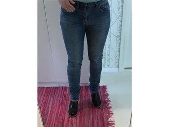 Jeans, stl, XS/S, Åhléns, frk, byxa, blå jeans, - Uppsala - Jeans, stl, XS/S, Åhléns, frk, byxa, blå jeans, - Uppsala
