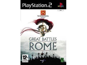 The History Channel Great Battles of Rome - PS2 - Komplett